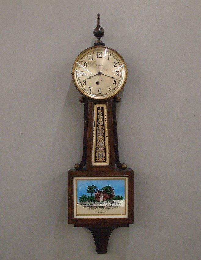 """Ingraham """"Nyanza"""" Banjo clock"""