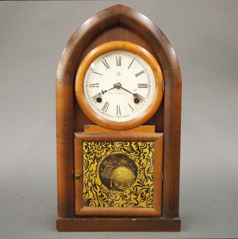 "Waterbury ""Beehive"" shelf clock"