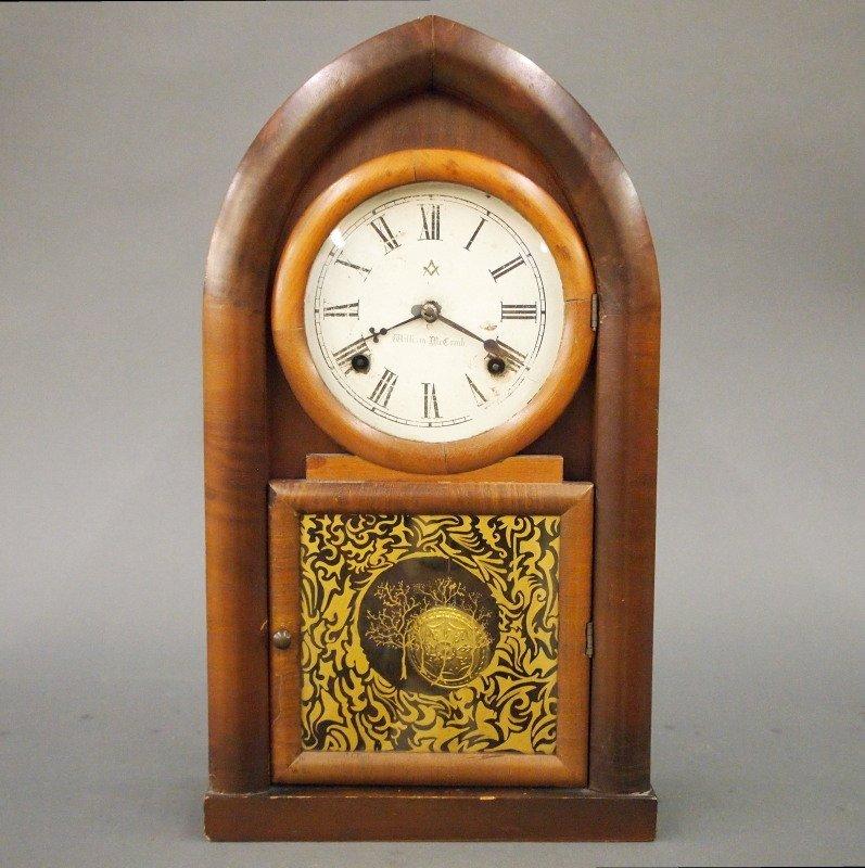 "Waterbury ""Beehive"" shelf clock"