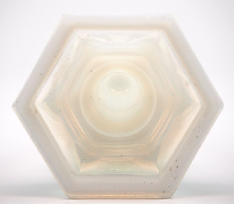 Pressed opalescent table articles, three - 7