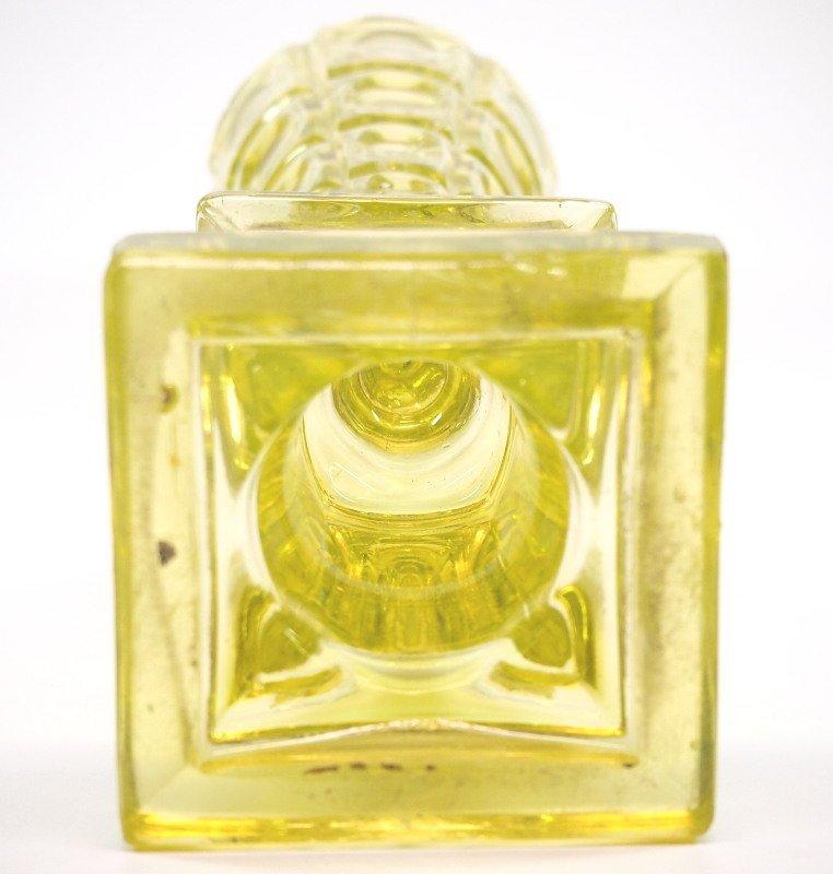 Pressed Four-Printie Block oil/fluid lamp - 2