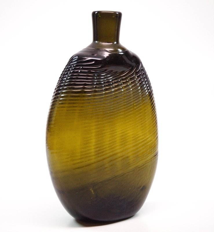 Pattern-molded Pitkin-type flask - 2