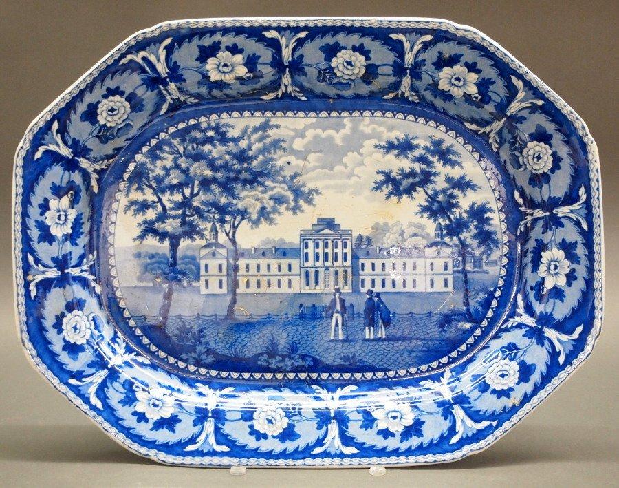 PA Hospital Historical platter