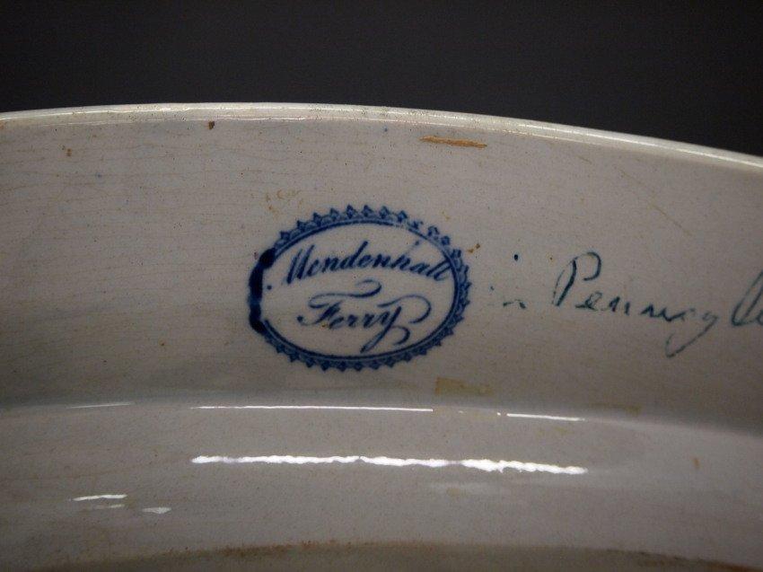 Mendenhall Ferry Historical platter - 2