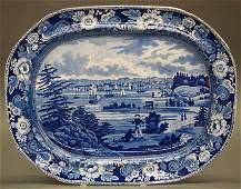 New York Historical platter