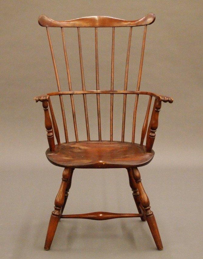 Philadelphia comb back Windsor armchair - 2