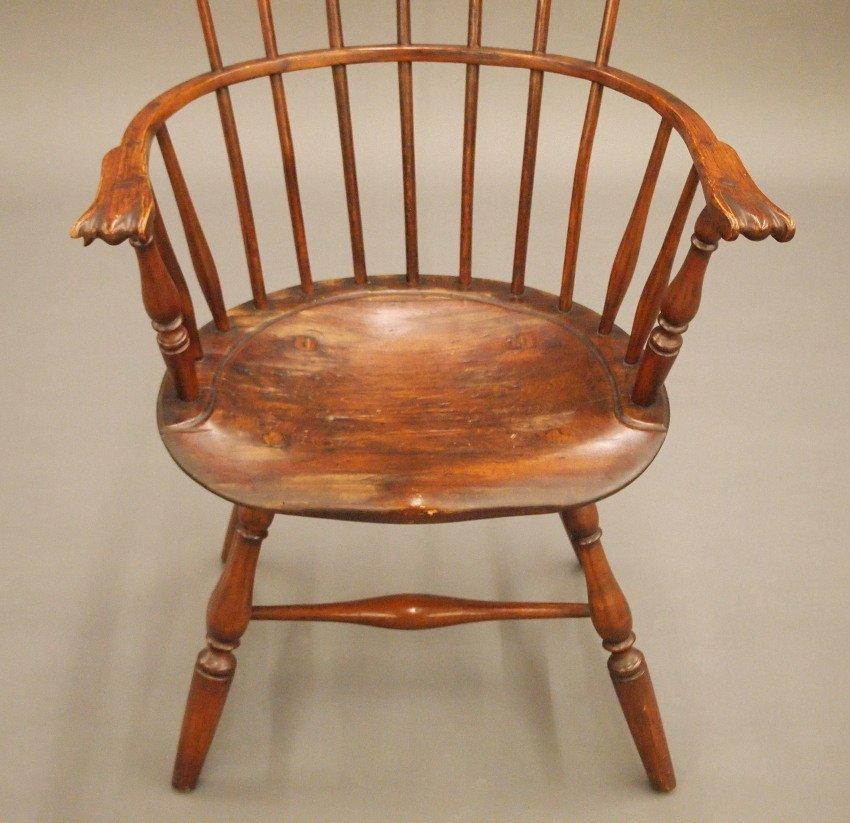 Philadelphia comb back Windsor armchair - 3