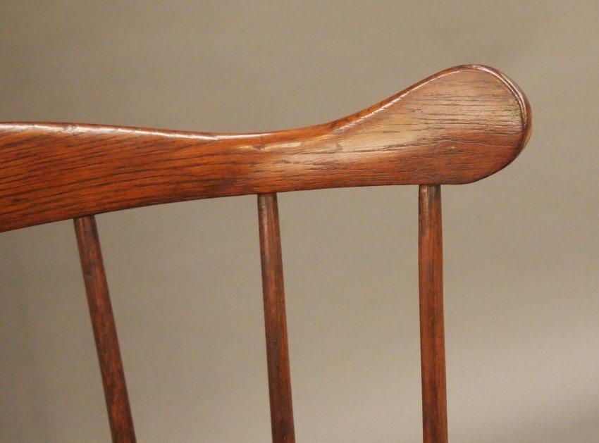 Philadelphia comb back Windsor armchair - 4