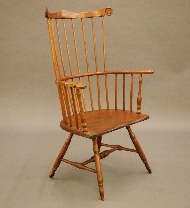 Philadelphia comb back Windsor armchair