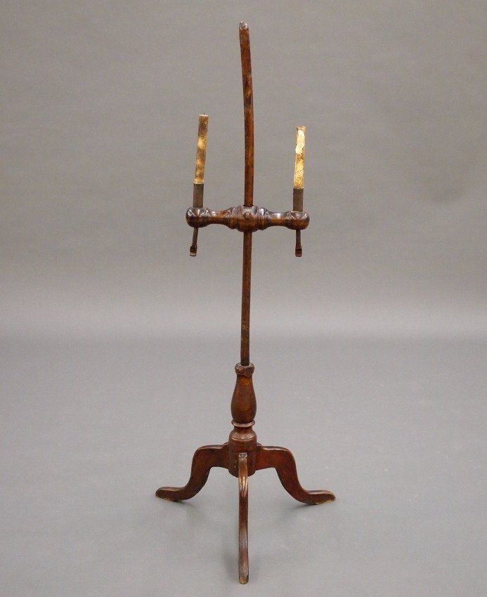 New England Maple candlestand