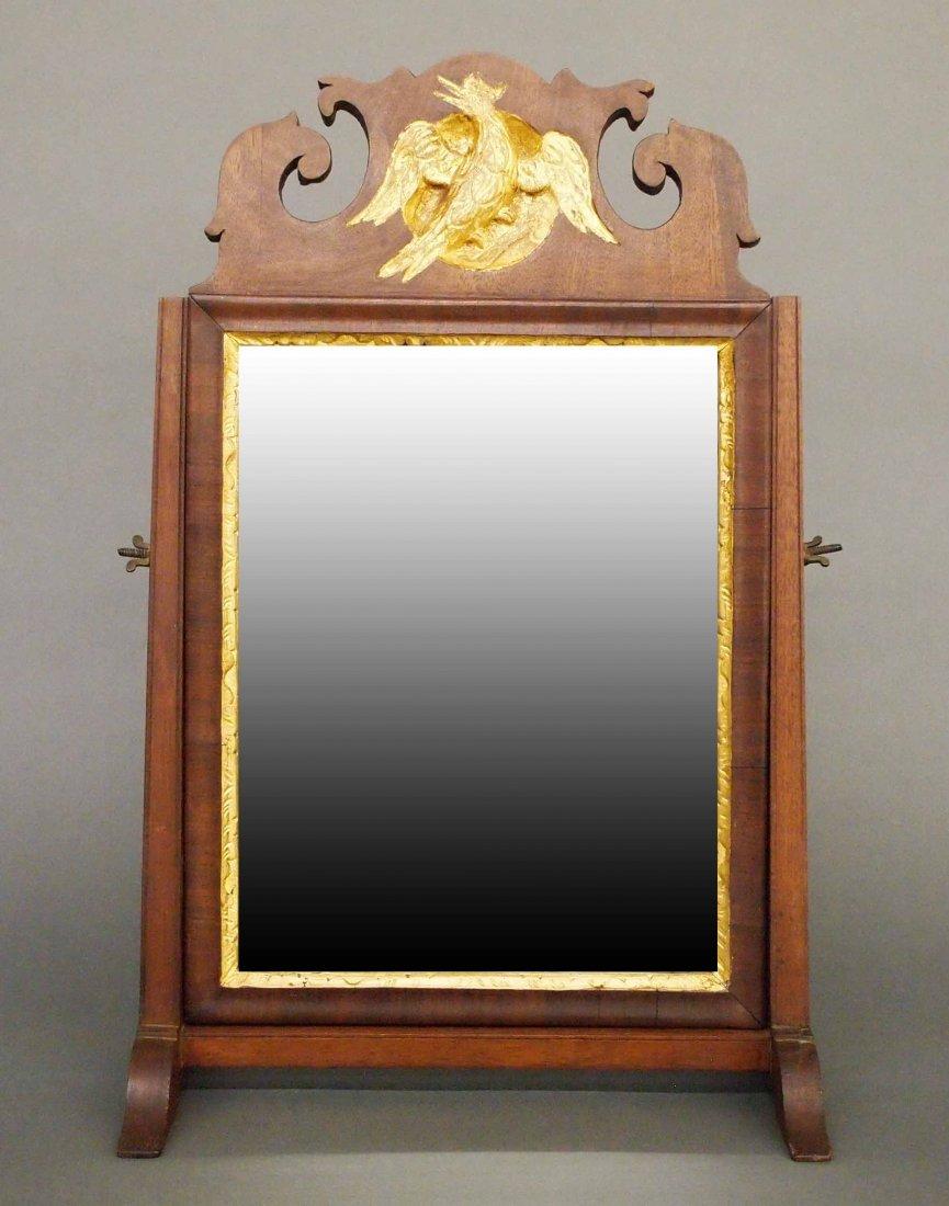 18th c Shaving mirror