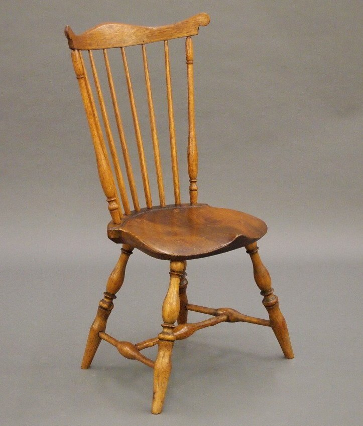 New England fan back Windsor sidechair