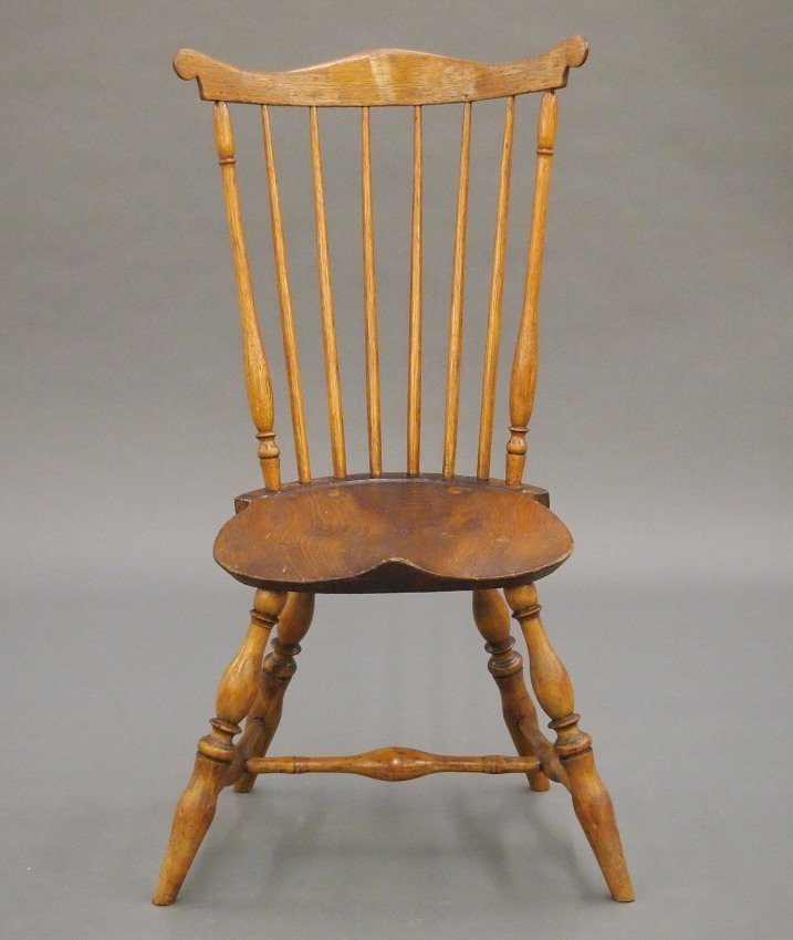 New England fan back Windsor sidechair - 2