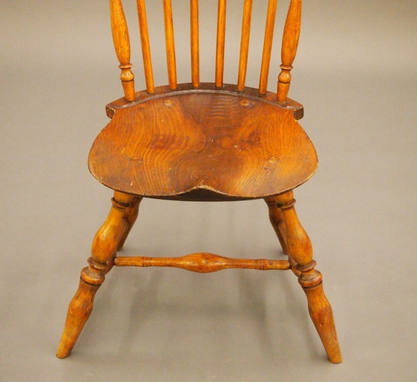 New England fan back Windsor sidechair - 3