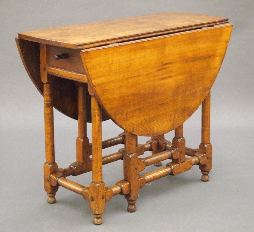 New England gate leg table