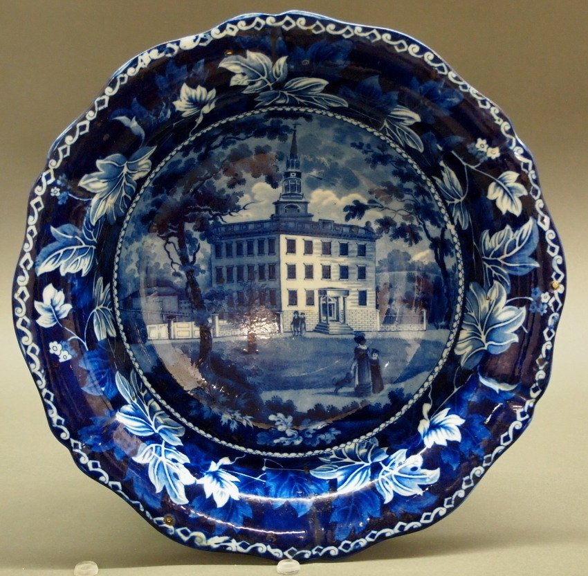 Lawrence Mansion, Boston Historical bowl