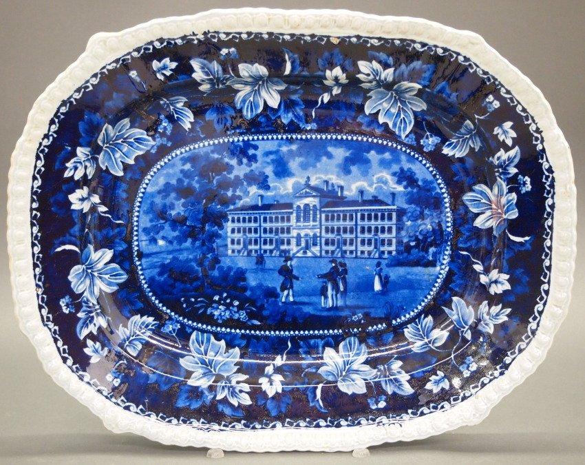 Alms House, Boston Historical platter