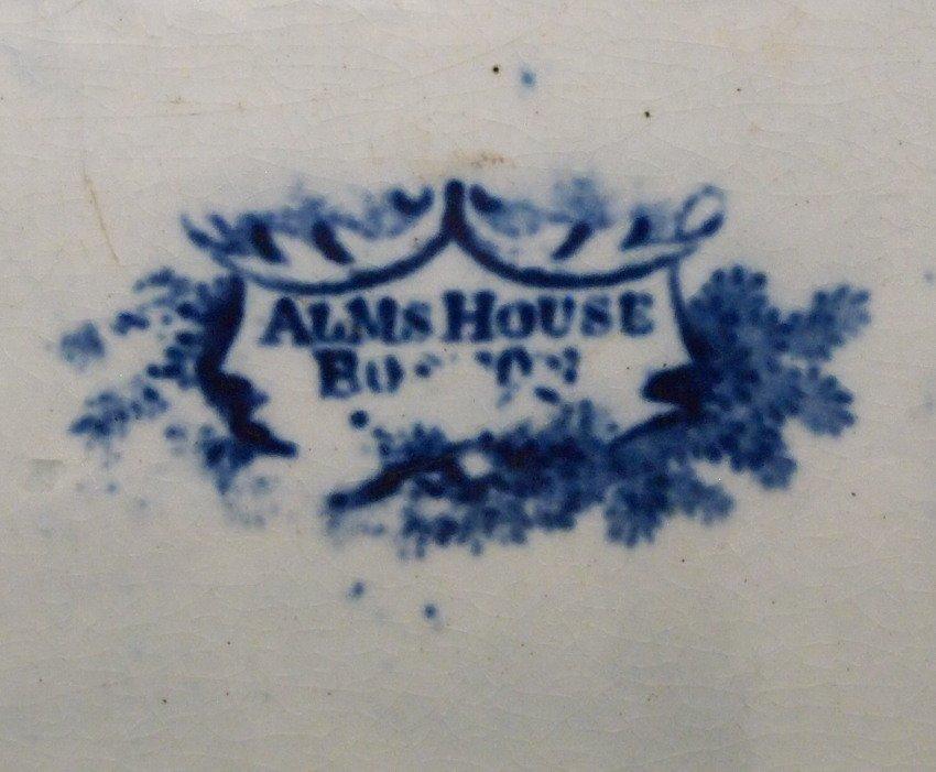 Alms House, Boston Historical platter - 2
