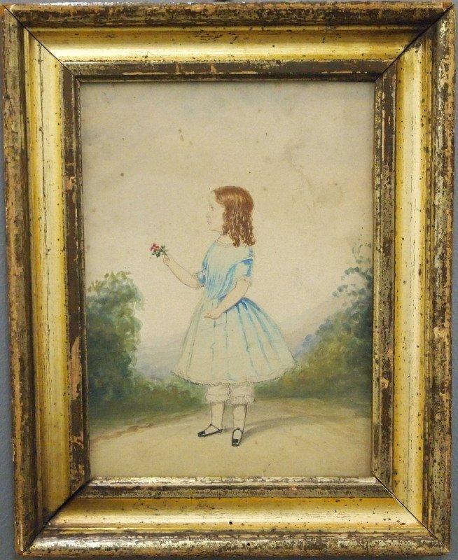 Folk Art portrait