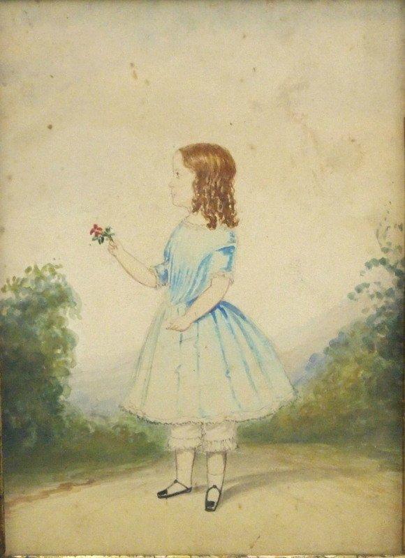Folk Art portrait - 2