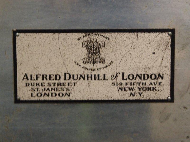 Dunhill Walnut Cigar humidor - 4