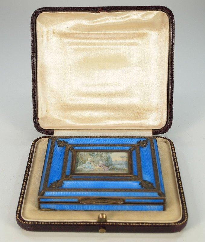 Austrian Enameled Sterling box - 3