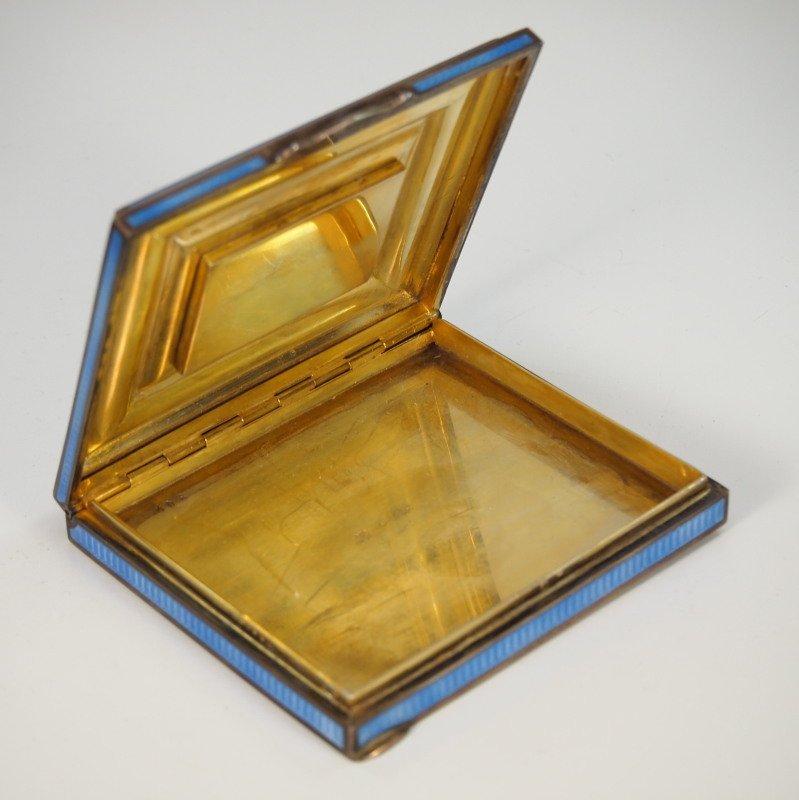 Austrian Enameled Sterling box - 4