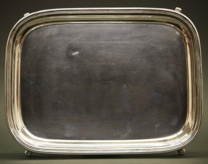 Hayden & Gregg Coin Silver tray - 2