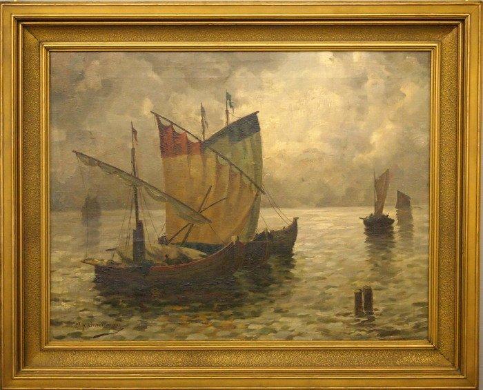 W. H. Wendlberger seascape