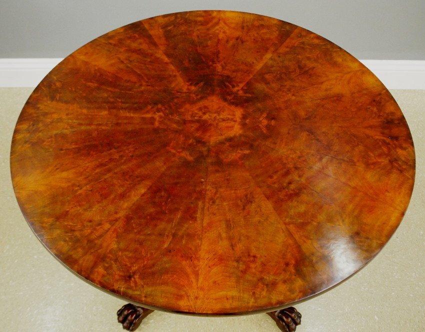English Regency center table - 2