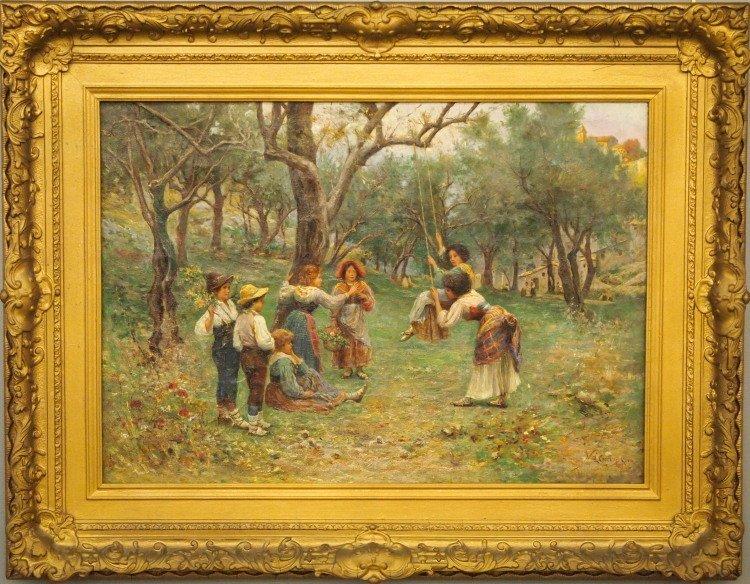 L. Cecconi genre scene