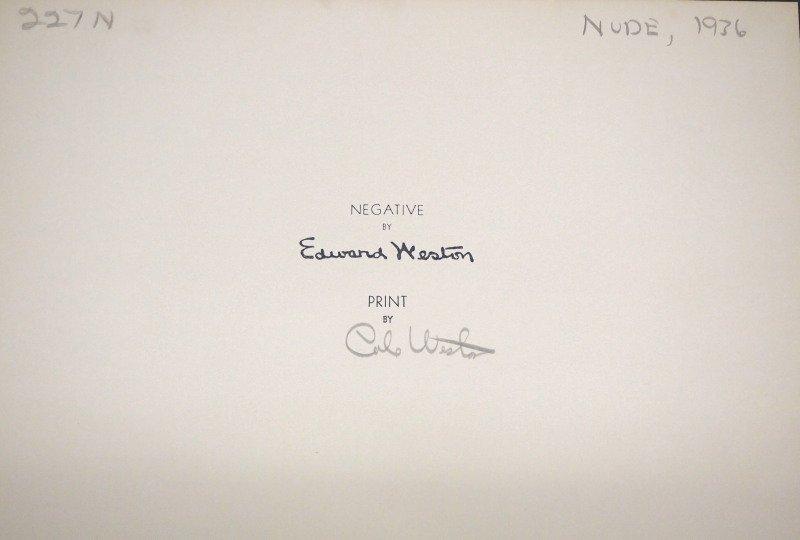 "Edward Weston photograph ""Charis"" - 2"