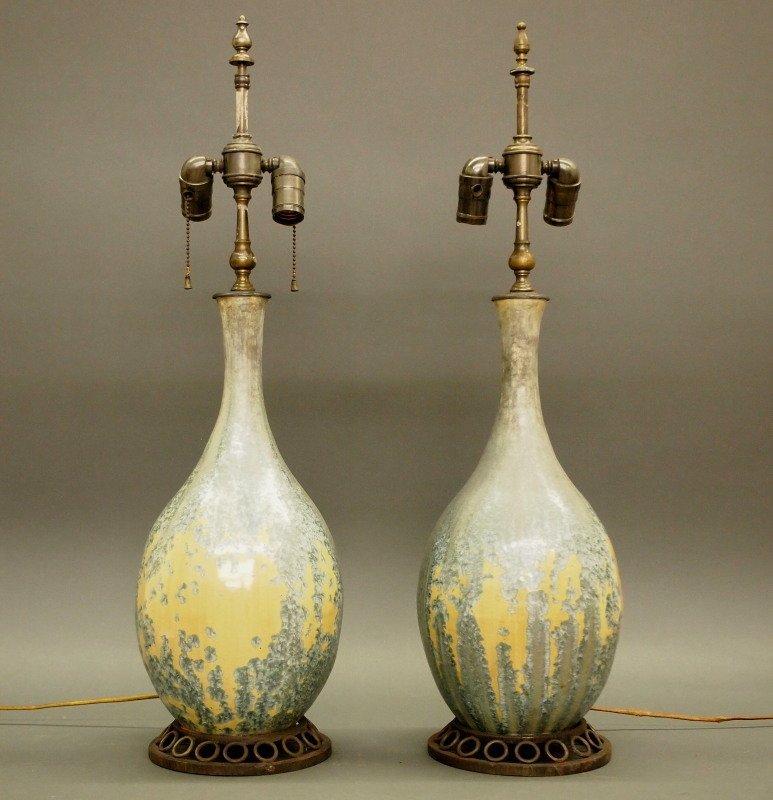 Pr Dalpayrat/Katona French lamps