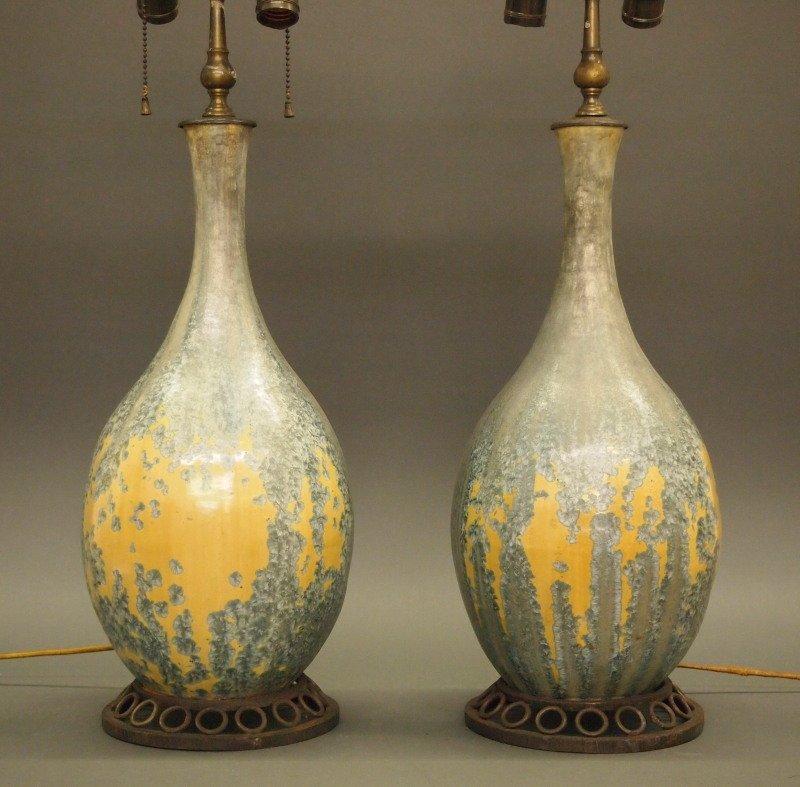 Pr Dalpayrat/Katona French lamps - 2