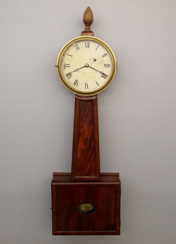 19th c American Banjo clock