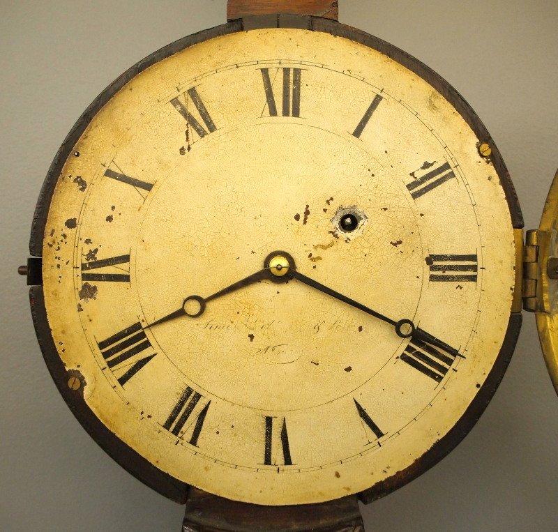 19th c American Banjo clock - 2