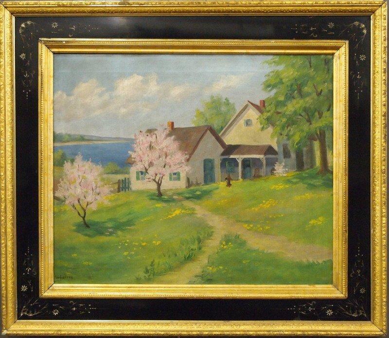 Verhaeren, oil painting