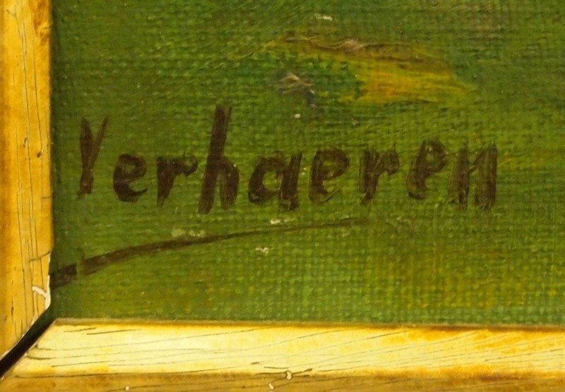 Verhaeren, oil painting - 2