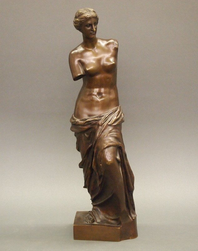 French bronze Venus de Milo