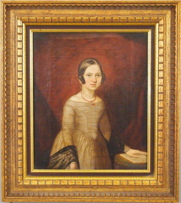 19th c American portrait
