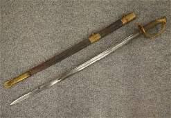 U. S. Model 1850 sword, C. Roby
