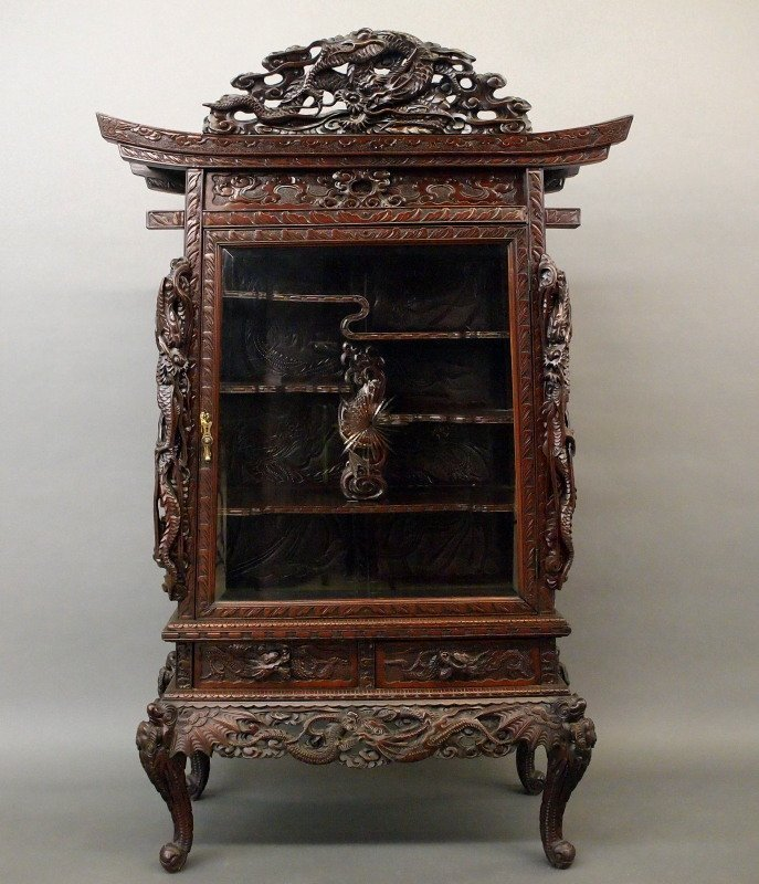 Japanese dragon cabinet