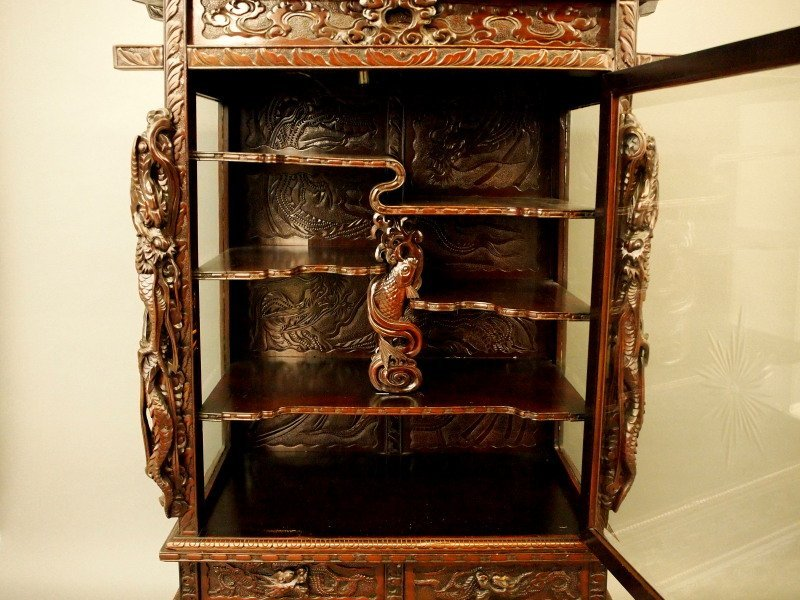 Japanese dragon cabinet - 3