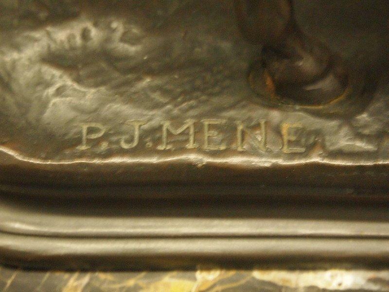 After Mene bronze sculpture - 2