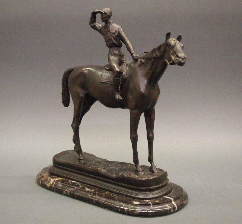 After Mene bronze sculpture - 3