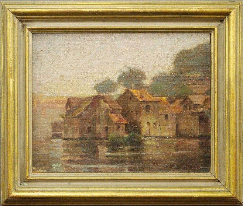 J. W. Gies fishing village