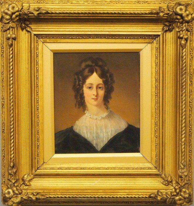 Mid 19th c portrait