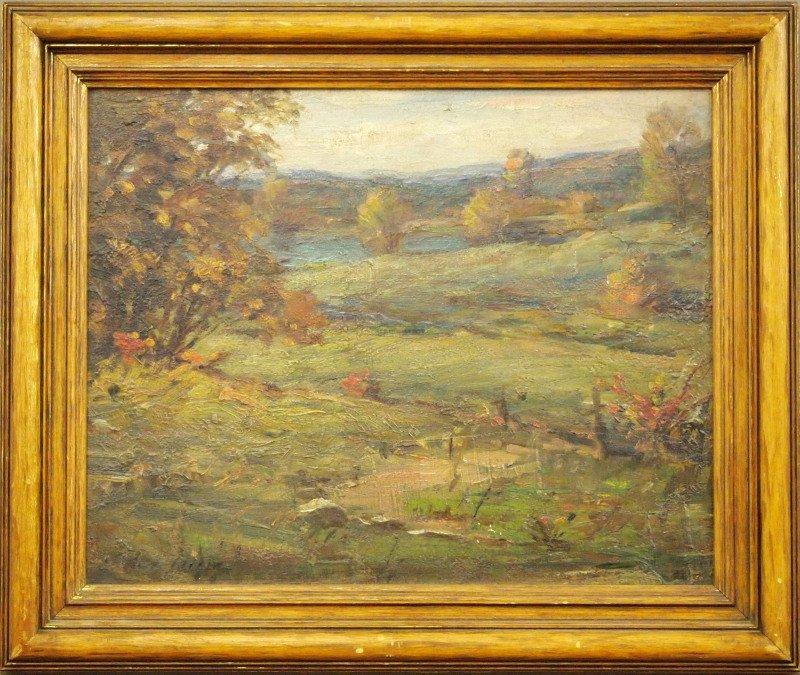 A. Wigle autumn landscape