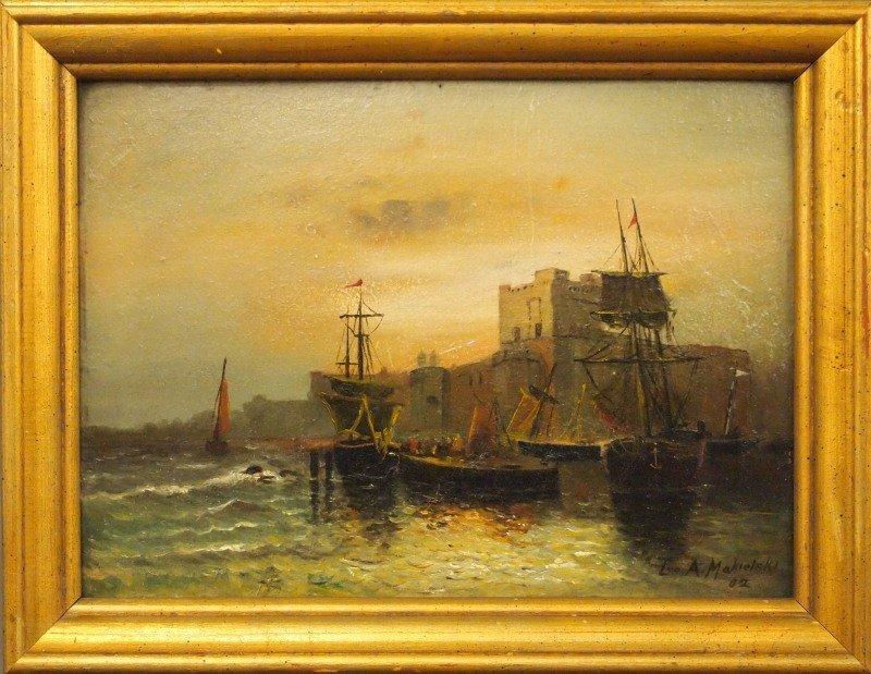 L. Makielski seascape