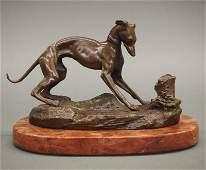 After Mene bronze sculpture